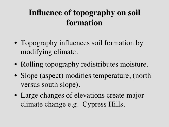The science of dirt for Soil in sentence