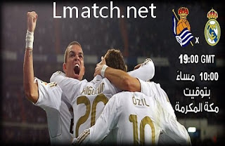 Voir Real Madrid vs Real Sociedad direct