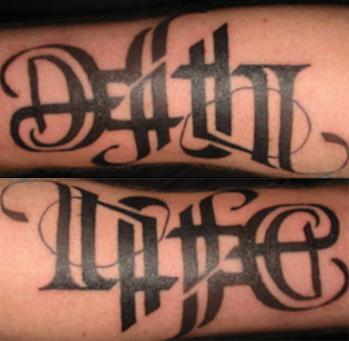 Miriam hogg 39 s year 13 media blog font ideas for Method man tattoo