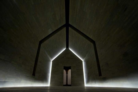 An oldie but a goodie house of stone atelier drome a d for John pawson lighting