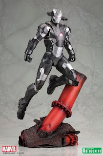 War Machine (Marvel Comics) Character Review - Art Statue Product