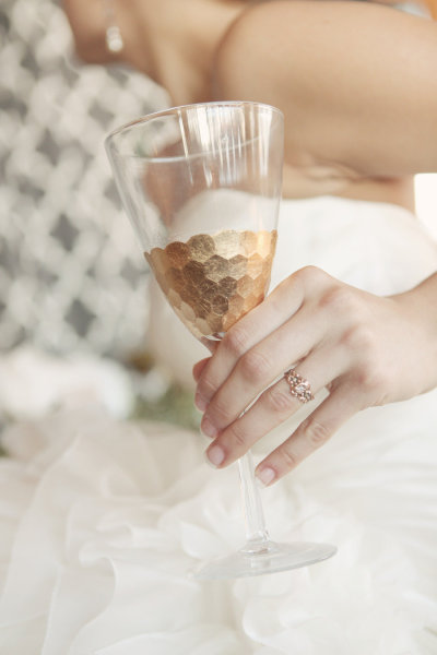 Metallic+2 Wedding Inspiration: Metallic