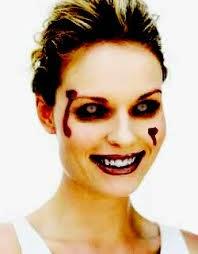 maquiagens de hallowen feminina