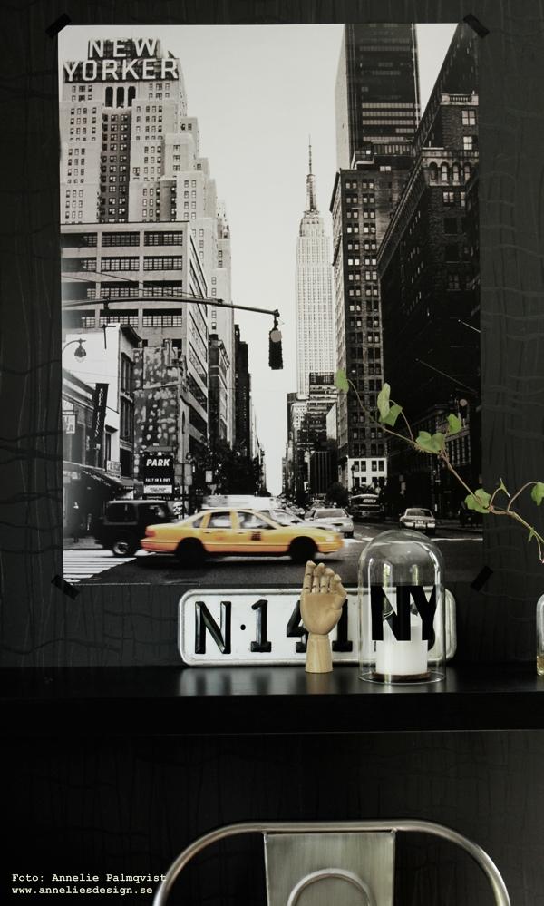 yellow cab, affisch, poster, posters med usa motiv, tavla med gul taxibil, gula taxibilar i NY, snyggt på väggen, annelies design & interior, anneliesdesign, webbutik, webbutiker, webshop, nettbutikk, nettbutikker,