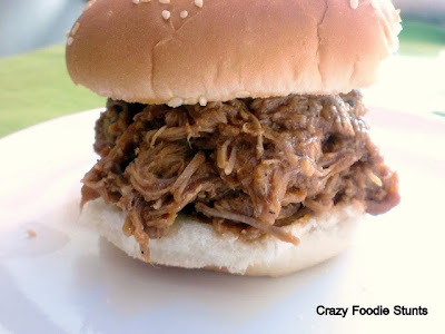 Crazy Foodie Stunts: Slow Cooker Carolina-Style Pulled Pork
