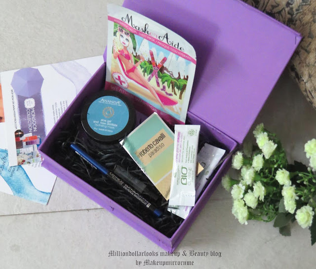 My Envy Box July 2015 Review, Unboxing, Pictures & Price, Beauty boxes in India, indian makeup and beauty blog, Monthly beauty box subscription in india, luxury sampling beauty box, indian makeup blogger, Indian beauty blogger, My envy box july 2015, my envy box review, Best beauty box india, Indian beauty blogger, July beauty boxes india