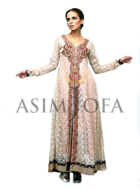 Pakistanilongkameezfashion201328229 - Asim Jofa Semi Formal Long kameez Designs 2013 | Asim Jofa 2013