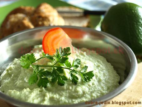 Nátierka z avokáda - recepty