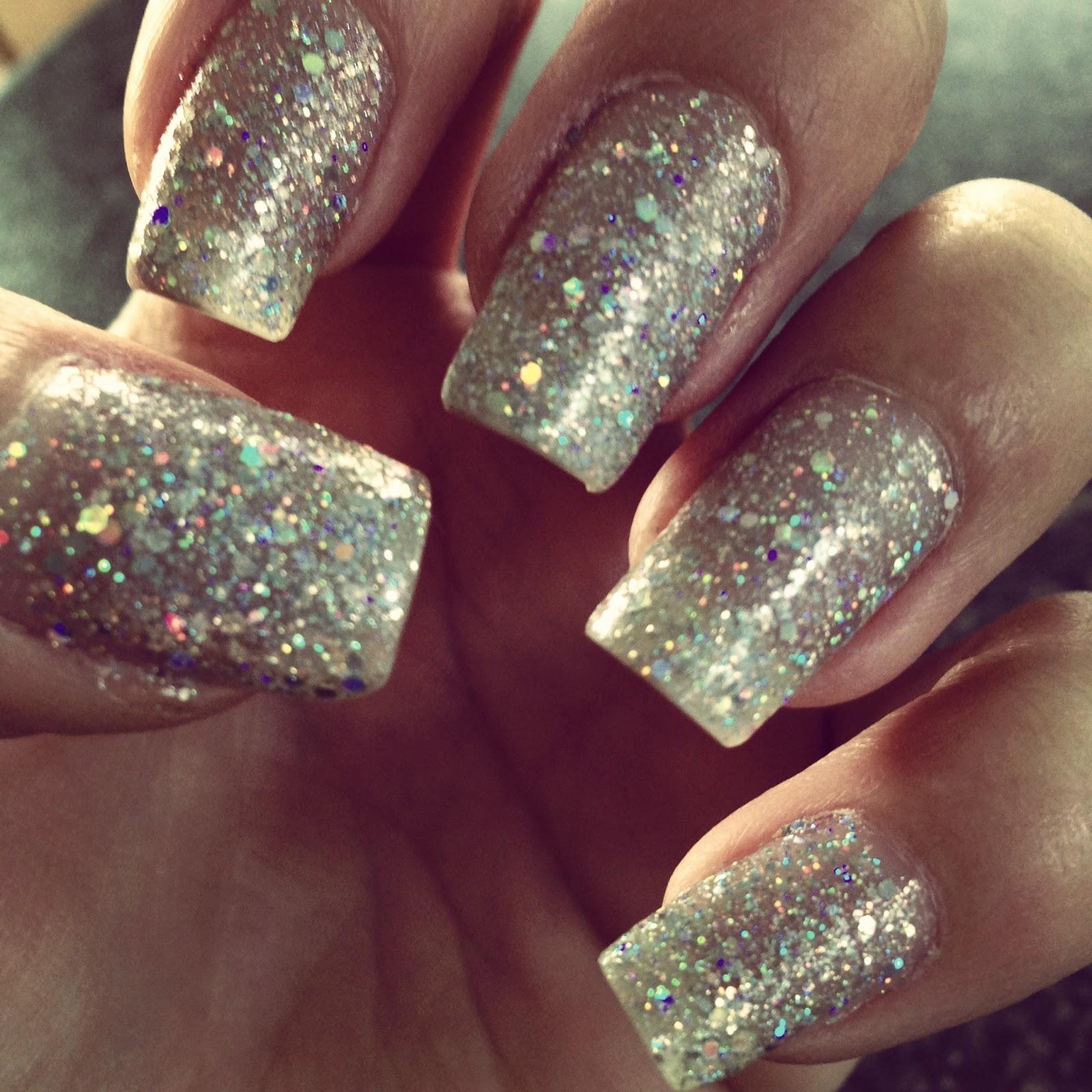 Diamond Glitter Nail Polish | Best Nail Designs 2018