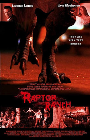 Poster Of Raptor Ranch In Dual Audio Hindi English 300MB Compressed Small Size Pc Movie Free Download Only At cintapk.com