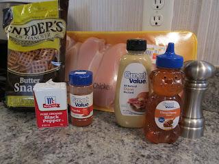 Keeza's Freezer Meals: Honey Mustard Pretzel Crusted Chicken Tenders