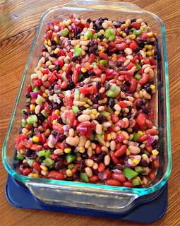 Aunt Penny's Bean Dip Recipe