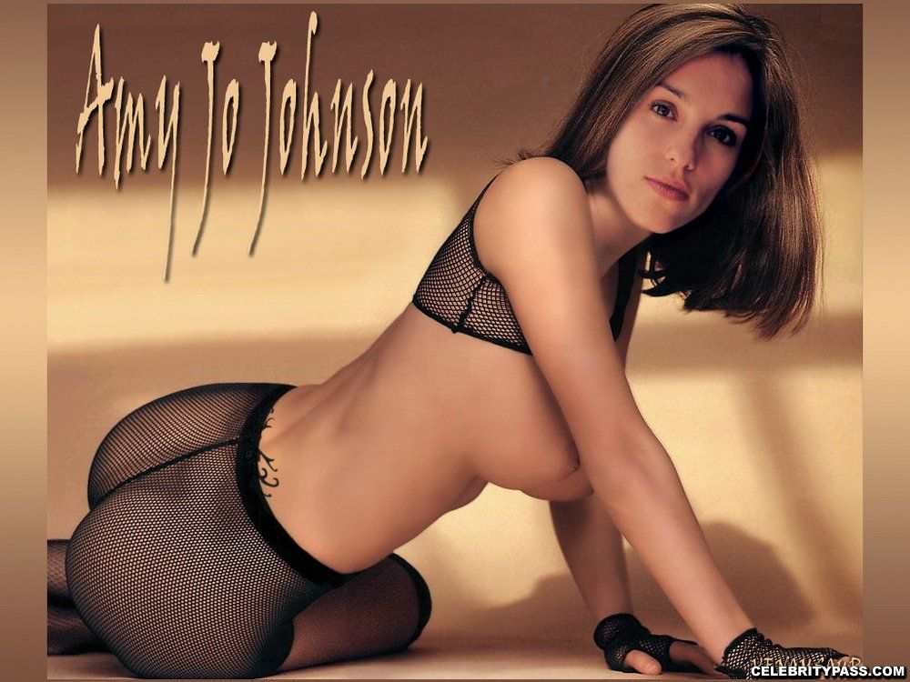 Pity, that amy jo johnson anal