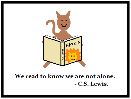we read to know we are not alone essay