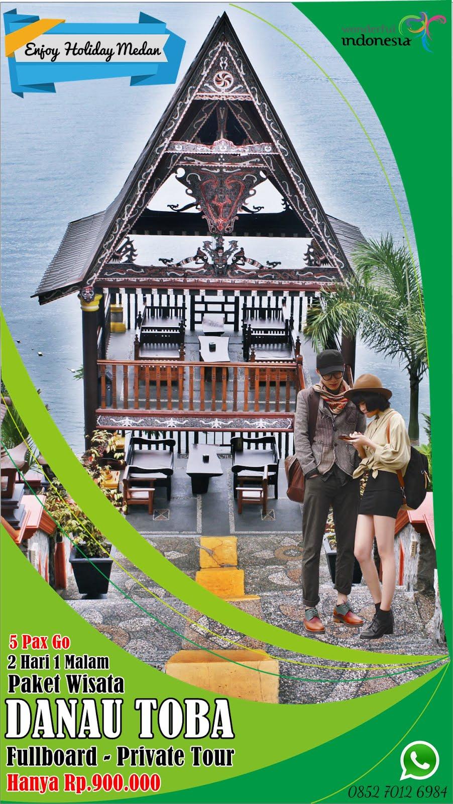2H1M Paket Tour Danau Toba Murah