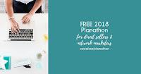 Free 2018 Planathon!