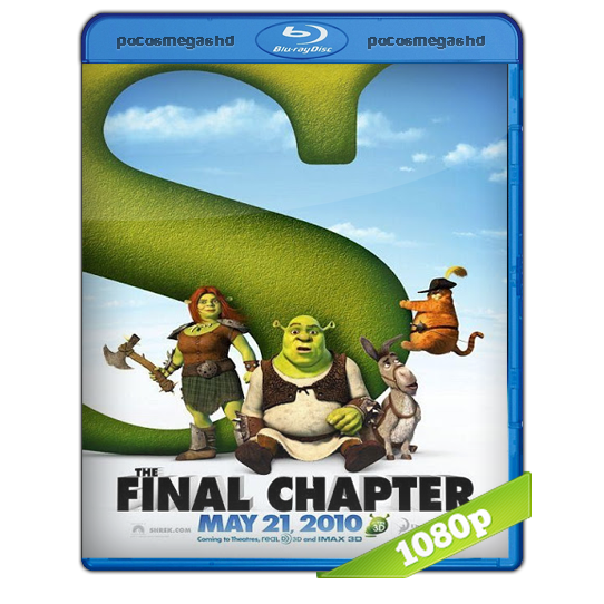 Shrek 4 | 2010 | BRRip 1080p | Audio Dual Latino 5.1 – Ingles + SUB