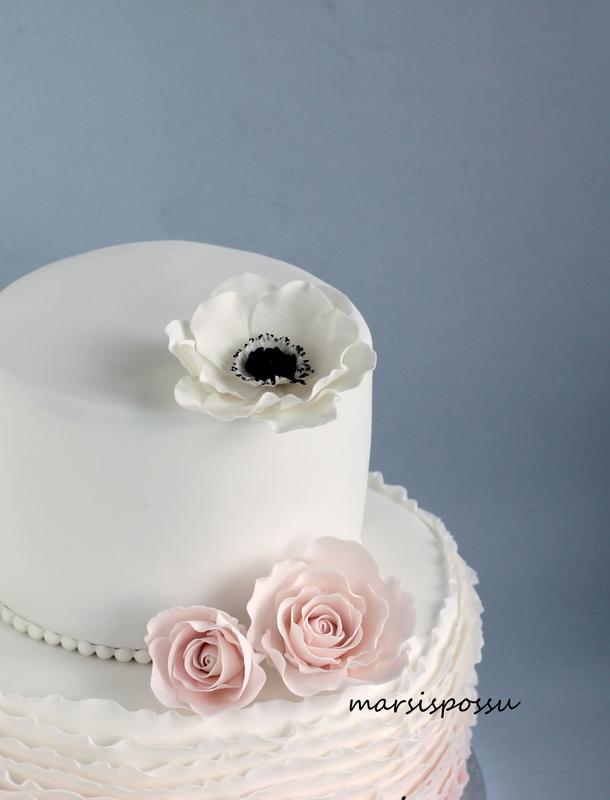 anemone sokerimassasta