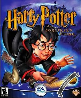 Harry Potter 1 and the Sorcerer's Stone Game Cover, Poster