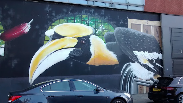 Rogue One Birds Graffiti Glasgow