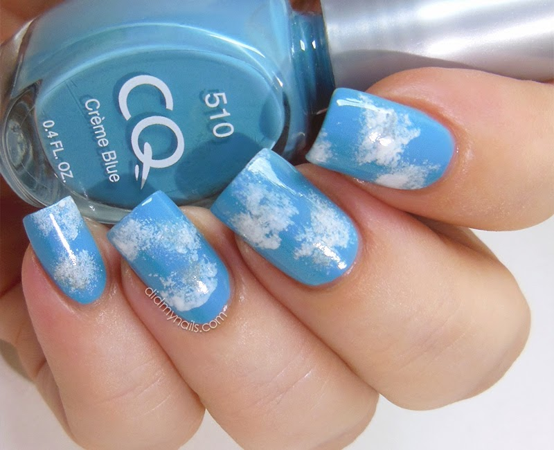 Did My Nails Twinsie Tuesday Clouds