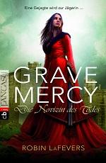http://www.randomhouse.de/Taschenbuch/Grave-Mercy-Die-Novizin-des-Todes-Grave-Mercy-Band-1/Robin-L-LaFevers/e414139.rhd