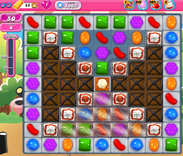 Candy Crush Saga 1367