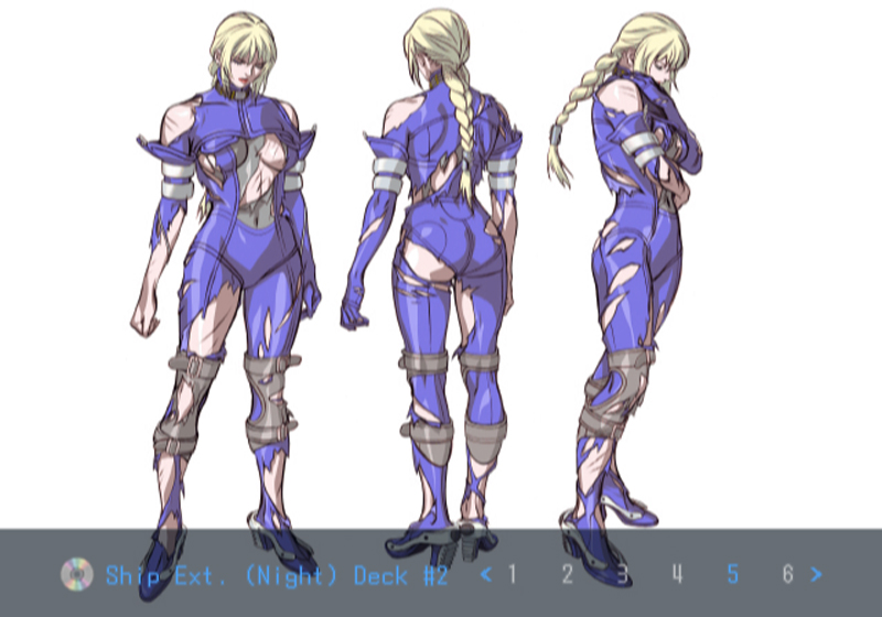 Death by Degrees Nina Williams Character Artwork