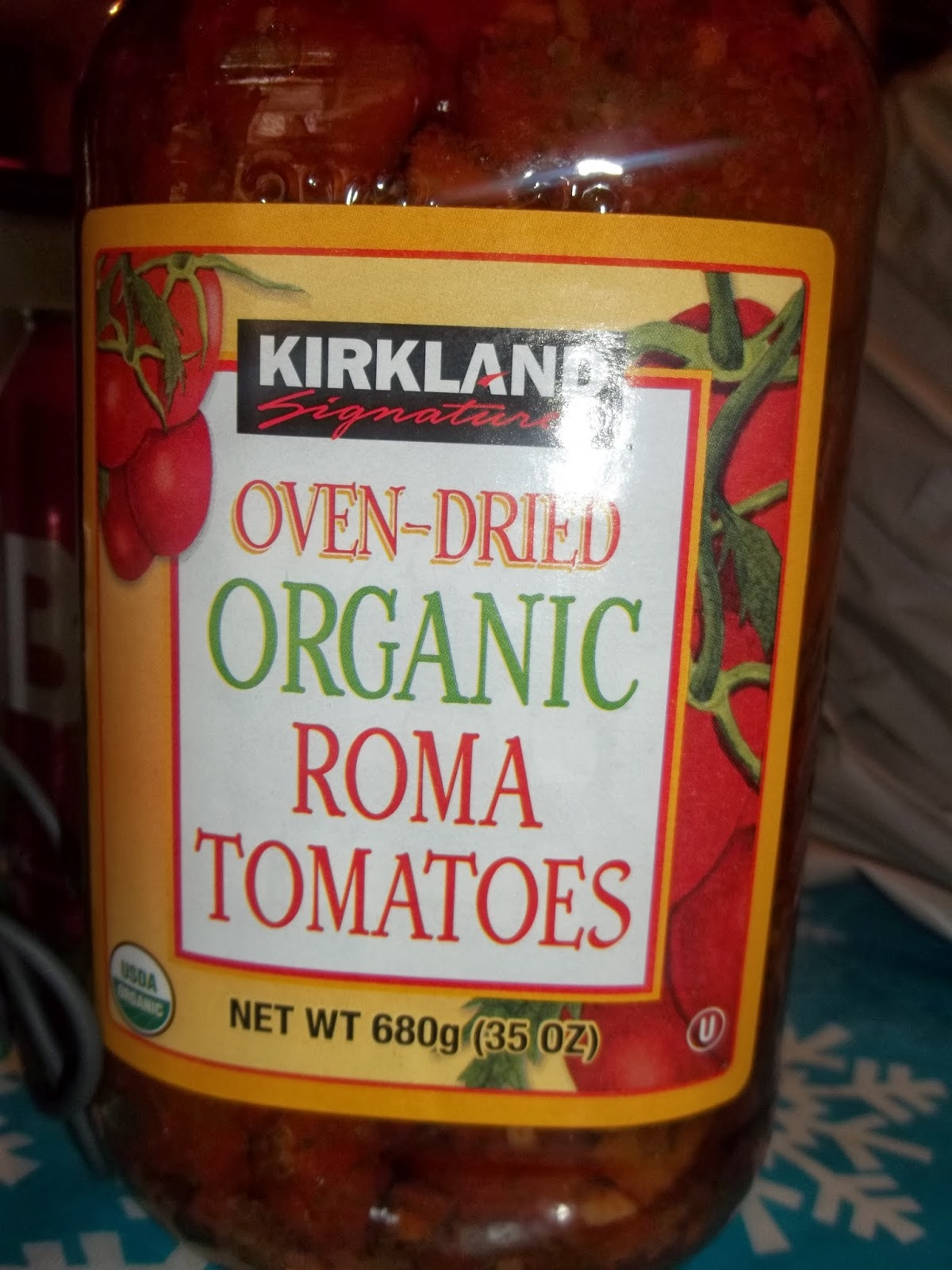 ... Signature Oven Dried Organic Roma Tomatoes - These are so wonderful