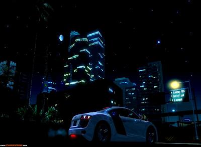 Céu Estrelado V2 Para GTA San Andreas