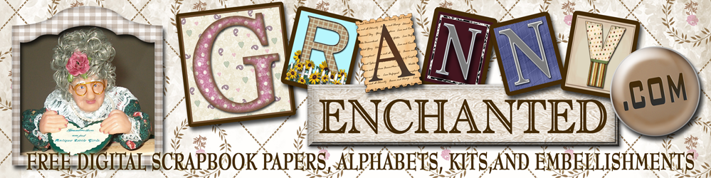 Granny Enchanted's Free Digital Scrapbook Kits