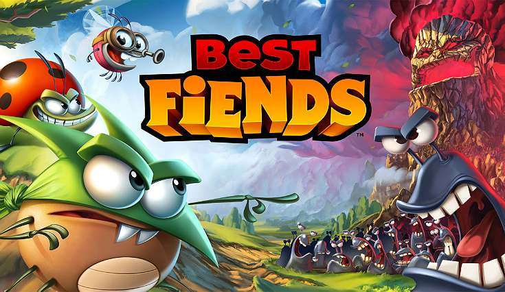 I #LoveBestFiends- see why I think this is the best #Free strategy puzzle mobile game on the market! #ad