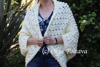 Crochet Cocoon Cardigan, All Sizes, Plus Sizes
