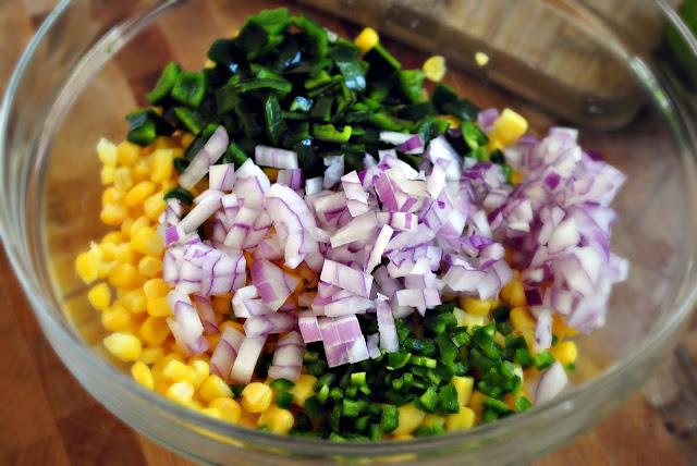 Sweet Corn Salsa l SimplyScratch.com