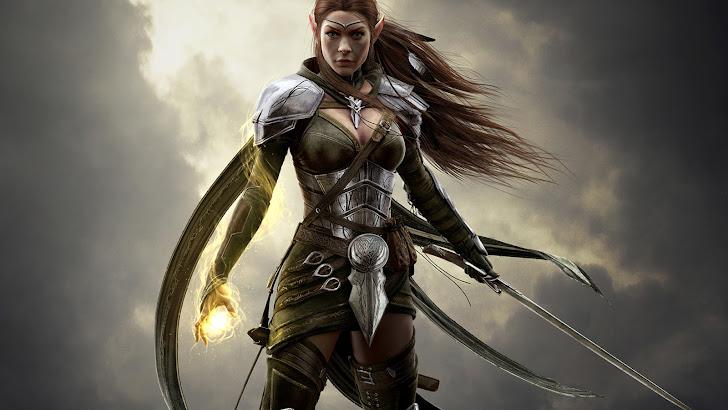 Elf Sorcerer Elder Scrolls Online