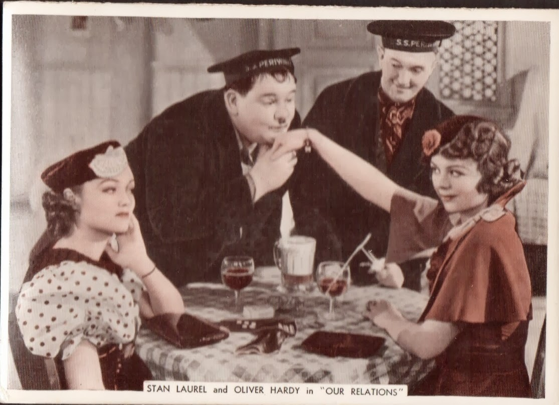 Thelma Todd Laurel And Hardy – Laurel and Hardy Birthday Cards
