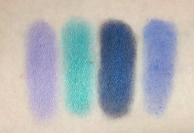Studio Secrets Pressed Eyeshadow Quad The Mystic's Gaze L'Oréal Project Runway Fall 2013 Collection