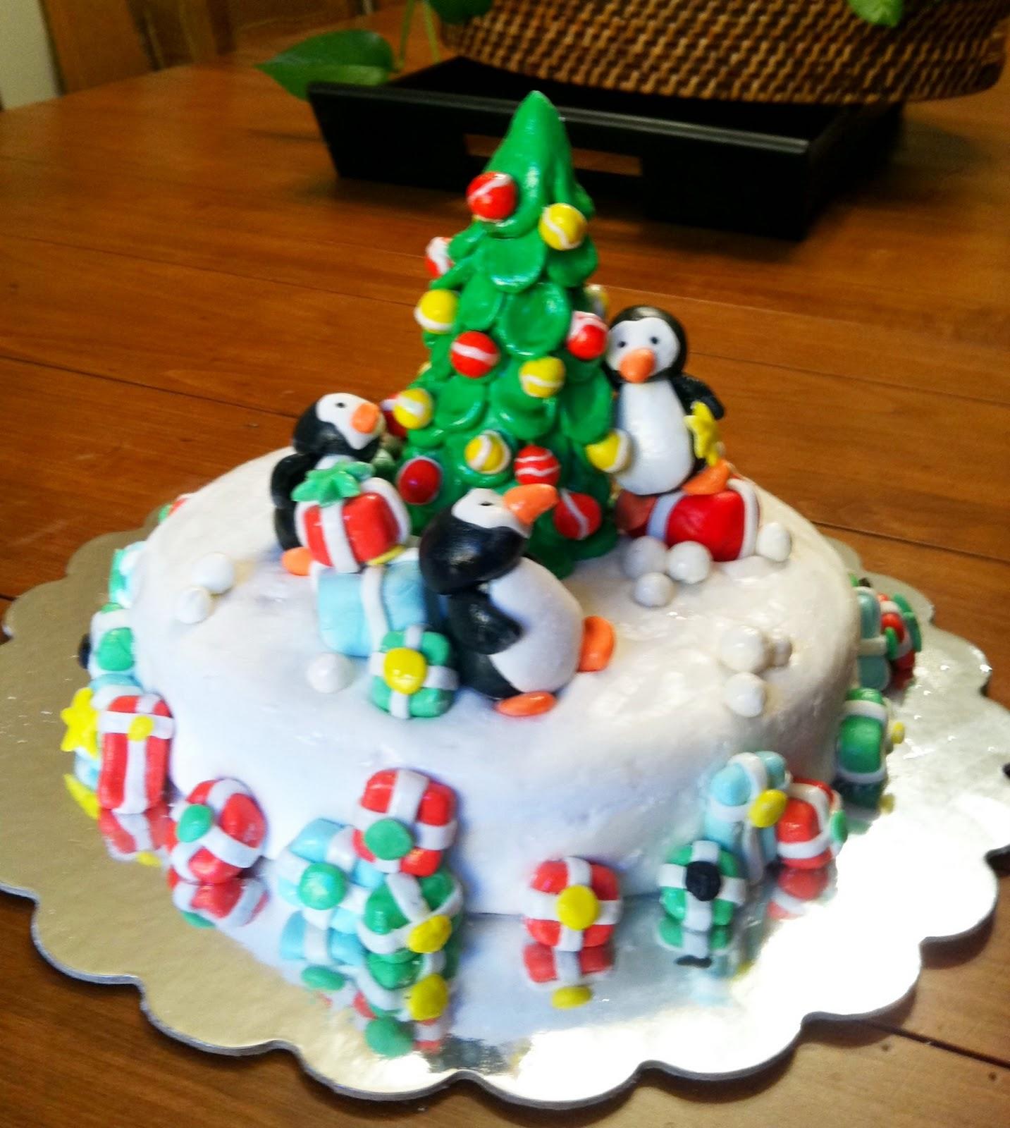 Christmas Cake Decoration Penguin : Hush Hush Sweet Charlotte Cakes: November 2011