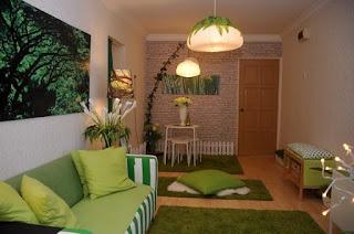 Tips Menghias Rumah Flat Bergaya Colorful Minimalis