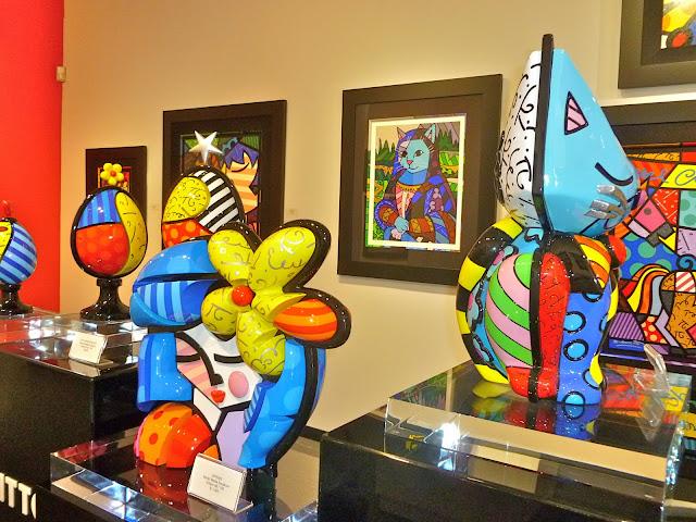Galeria Romero Britto Miami Lincoln Road