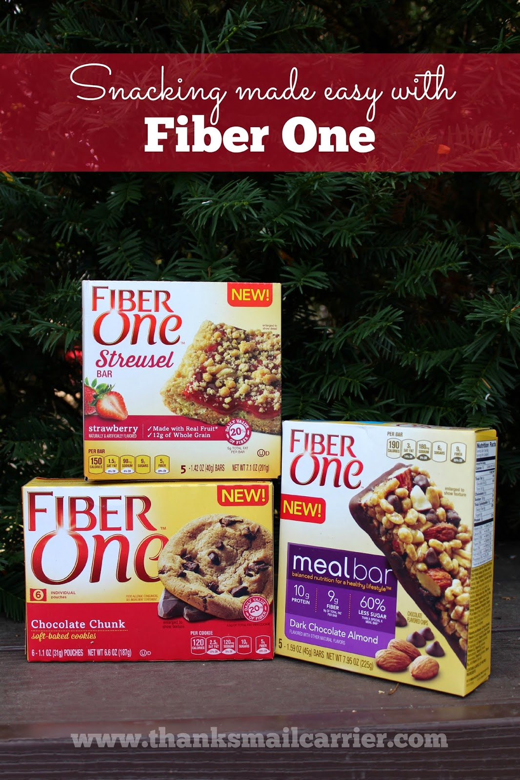 Fiber One new snacks