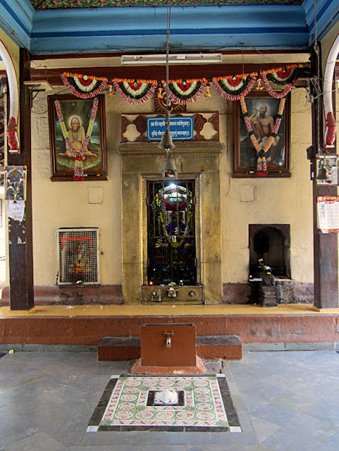 main altar for the devotees in the Hindu temple