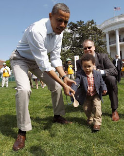 Celebrity Easter  with President Obama!
