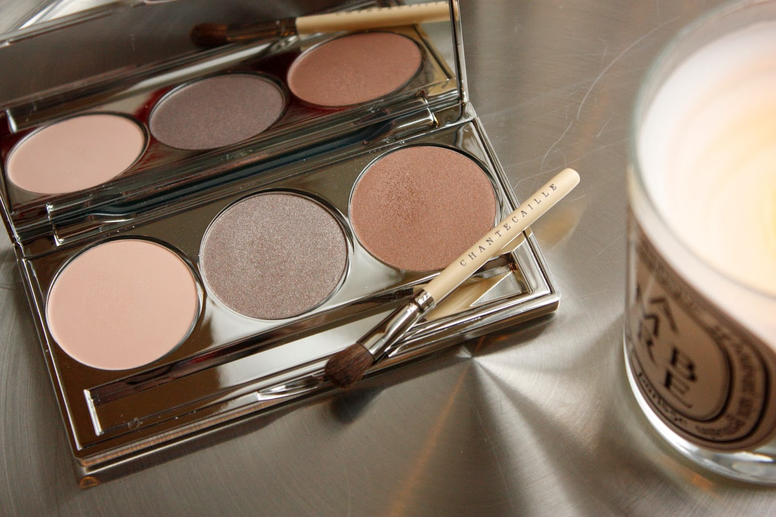 Chantecaille eye shadows