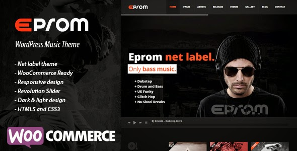 EPROM v1.4.1 - Themeforest WordPress Music Theme