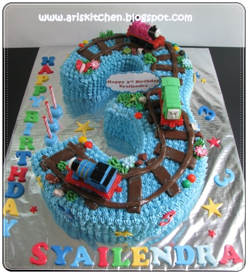 dAngel Cakes Thomas and Friends Cake