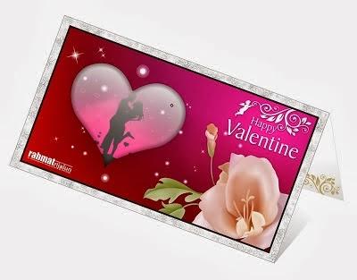 Kartu Ucapan Valentine Day 2014