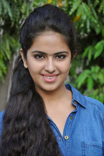 Acress Avika Gor Pictures in Pink Tight Jeans at Uyyala Jampala Movie Press Meet 0006.jpg