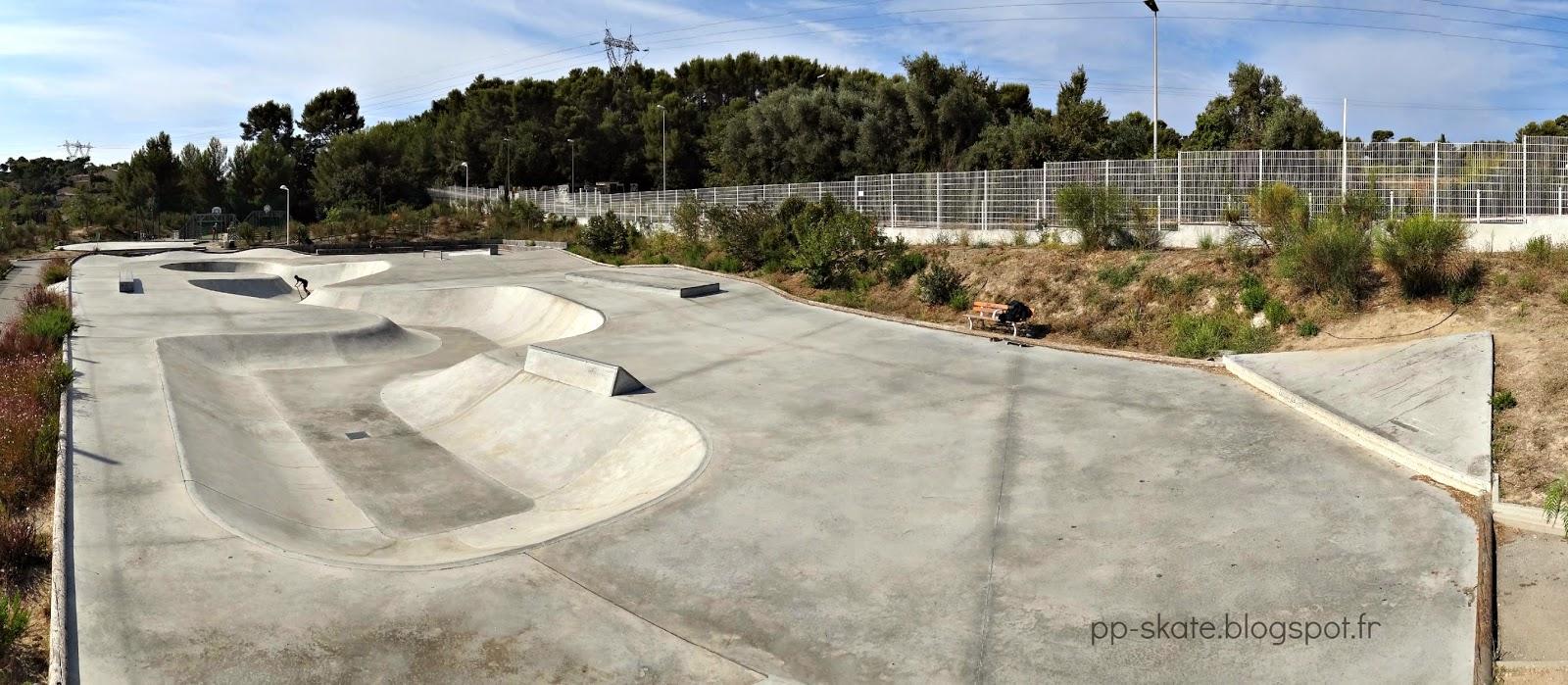 Skatepark snake park Toulon