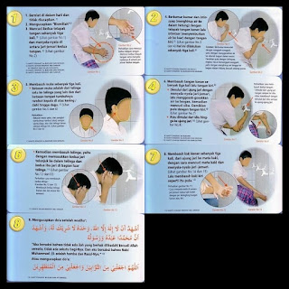 Tata Cara Wudhu Lengkap dengan Gambar dan Doanya ~ Belajar ...